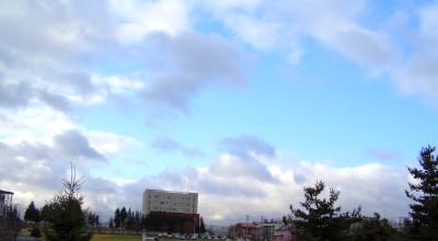 11/10:北見工業大学の空