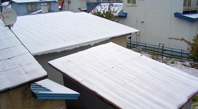 11/01:北見市で雪