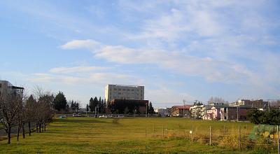11/05:オホブラ百貨店の駐車場から見た景色