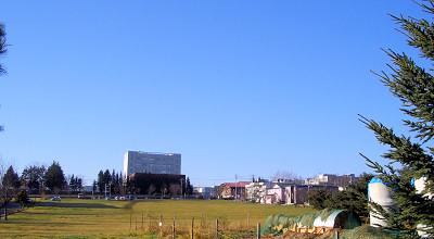 11/06:オホブラ百貨店の駐車場から見た景色