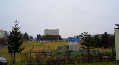 11/10:オホブラ百貨店の駐車場から見た景色