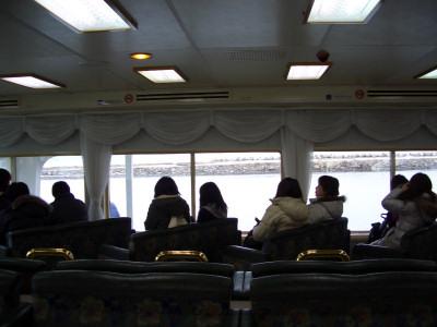 2010.2.28:網走流氷観光砕氷船「おーろら」より見た景色