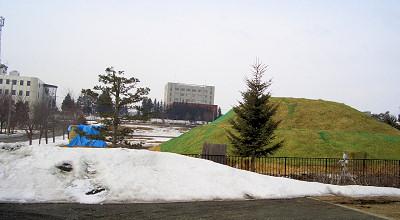 4/1:オホブラ百貨店の事務所駐車場から見た景色