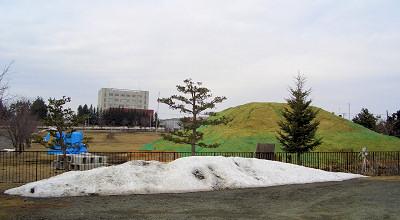 4/6:オホブラ百貨店の事務所駐車場から見た景色