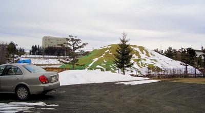 4/9:オホブラ百貨店の事務所駐車場から見た景色