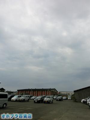 9/4:オホブラ貨店・今朝の北見市