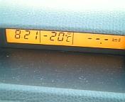 2/1:車載気温計−20