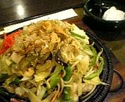 旬料理食堂・東京亭のオホーツク塩焼きそば