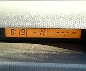 11/11:車載気温計