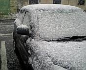 11/18:北見市の雪