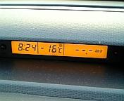 01/06の車載気温計