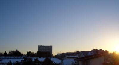 2/19:夕方の空