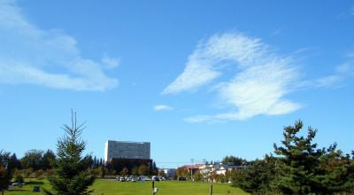 9/29:北見工大周辺の空
