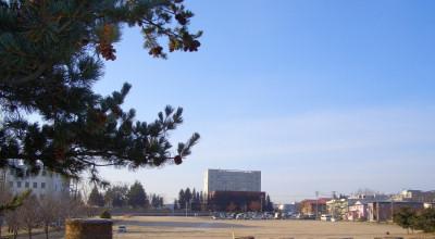 12/04:北見工大近辺の朝の景色
