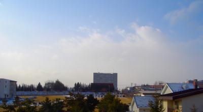 12/08:北見工大近辺の朝の景色