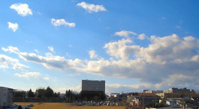 12/09:北見工大近辺の朝の景色