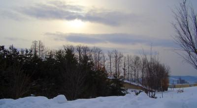 02/13:オホブラ百貨店の事務所から見た北見工大