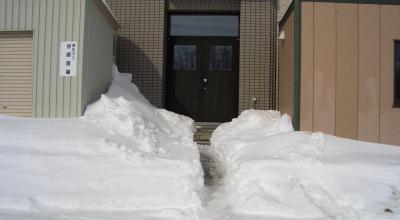 02/25:スノースコップ幅の除雪