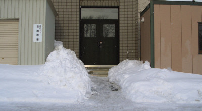 02/26:スノースコップ幅の除雪