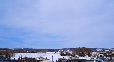 03/26:オホブラ百貨店の事務所の屋上からみた景色