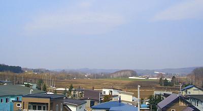 04/10:オホブラ百貨店の事務所の屋上から見た景色