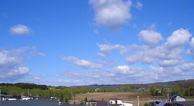 05/14:オホブラ百貨店の事務所の屋上から見た北見工大方面から右