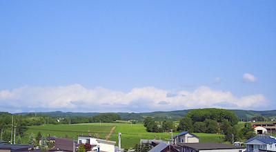 06/19:オホブラ百貨店の事務所の屋上から見た景色