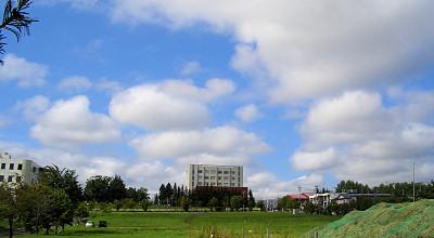 07/31:オホブラ百貨店の駐車場から見た景色