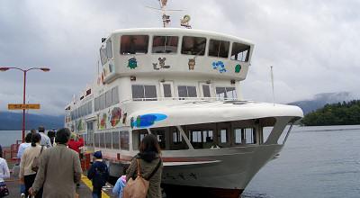 08/02:阿寒湖観光船