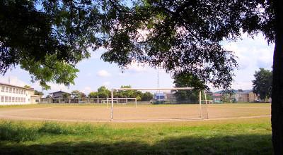 09/19:北見市立光西中学校のグラウンド