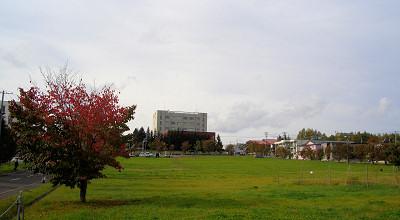 10/02:オホブラ百貨店の駐車場付近から見た景色