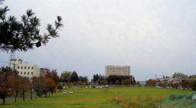 10/08:オホブラ百貨店の駐車場付近から見た景色