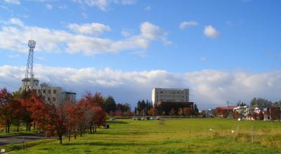10/14:オホブラ百貨店の駐車場付近から見た景色