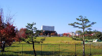 10/16:オホブラ百貨店の駐車場から見た景色