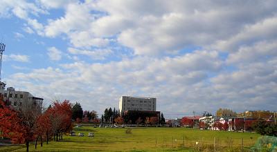 10/19:オホブラ百貨店の駐車場から見た景色