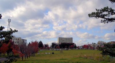 10/21:オホブラ百貨店の駐車場から見た景色