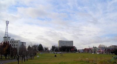10/26:オホブラ百貨店の駐車場から見た景色