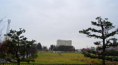 10/27:オホブラ百貨店の駐車場から見た景色