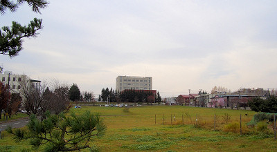10/29:オホブラ百貨店の駐車場から見た景色