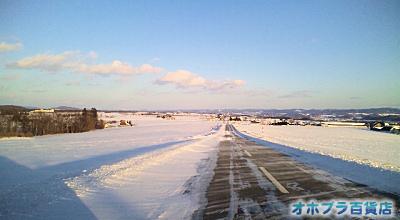 訓子府の雪景色