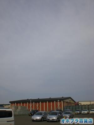 5/1:オホブラ百貨店・今朝の北見市のたまねぎ倉庫