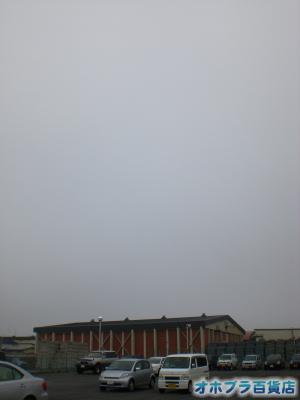 5/10:オホブラ百貨店・今朝の北見市のたまねぎ倉庫