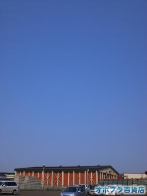 5/21:オホブラ百貨店・今朝の北見市のたまねぎ倉庫