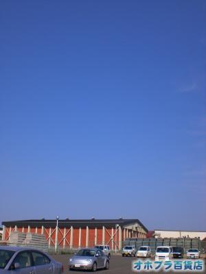 5/22:オホブラ百貨店・今朝の北見市のたまねぎ倉庫