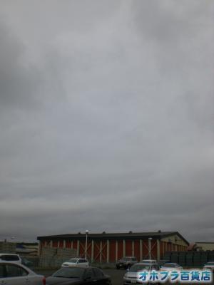 6/1:オホブラ百貨店・今朝の北見市のたまねぎ倉庫