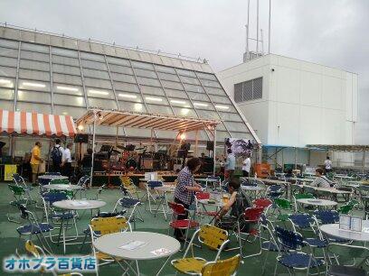 オホブラ百貨店:屋上ビアガーデンinパラボ