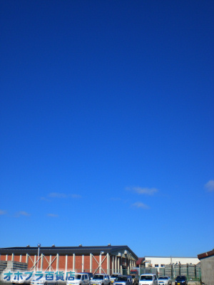 9/3:オホブラ百貨店・今朝の北見市のたまねぎ倉庫