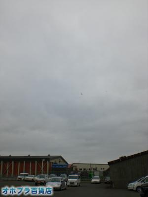 9/25:オホブラ百貨店・今朝の北見市のたまねぎ倉庫