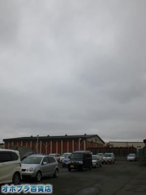 5/14:オホブラ百貨店・今朝の北見市のたまねぎ倉庫