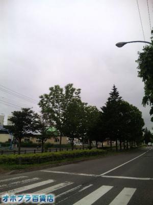 6/24:オホブラ百貨店・今朝の北見市